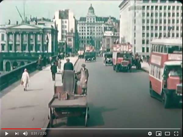 Old movie from London